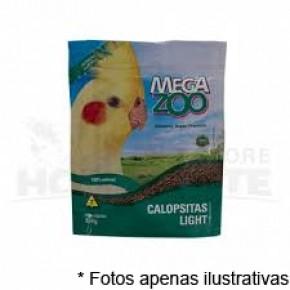 Ração Mega Zoo Light Calopsitas 350g