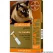 Advocate Anti pulgas e Vermes para gatos de até 4kg