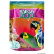 Ração Mega Zoo Mix Papagaio Tropical 700g