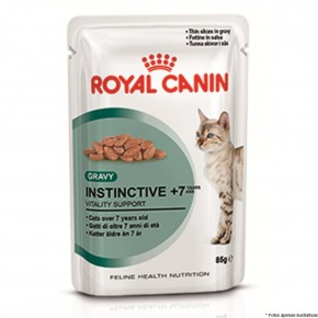 Royal Canin Sache Gatos Instinctive + 7 anos 85g