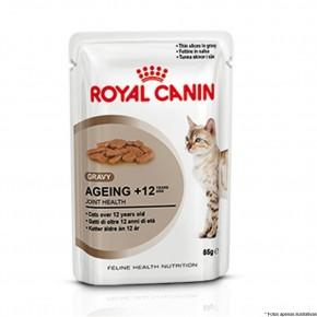 Royal Canin Sache Gatos Ageing + 12 anos 85g