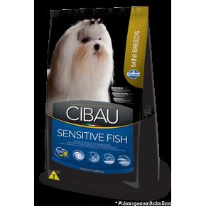 Ração Cibau Adultos Sensitive Fish Mini Breeds 1kg