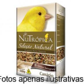 Ração Nutrópica Seleção Natural para Canarios 8 Grãos 300g