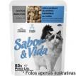 Sabor & Vida Sache Gatos  Adultos Atum e Sardinha ao Molho 85g