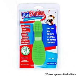 Petgames Brinquedos PetEscova - Verde tamanho P