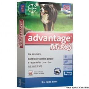Advantage Max 3  (Para cães de 10.1 a 25kg)