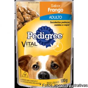 Pedigree Sache Cães Adultos Frango 100g