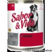 Sabor & Vida Lata Cães Adultos Carne  280g