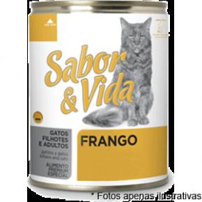 Sabor & Vida Lata Gatos  Frango 290g