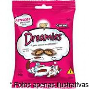 Dreamies Petiscos sabor carne 40gr
