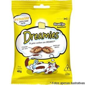 Dreamies Petiscos sabor queijo 40gr