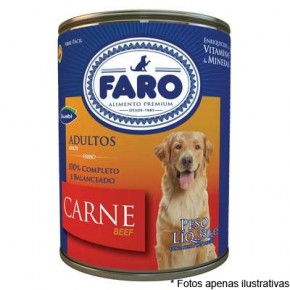 Faro Lata Cães Adultos Carne  280g