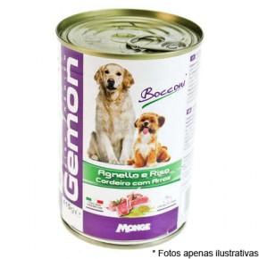 Gemon Lata Cães Adultos Cordeiro e Arroz  415g