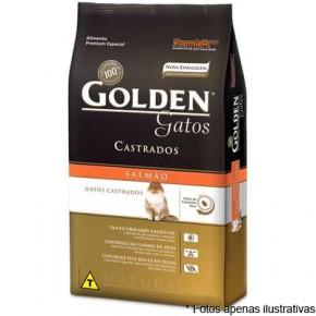 Ração Golden Gatos Castrados  salmão 3kg