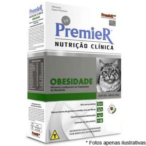 Ração Premier Nutrição Clinica Gatos Obesidade 1,5KG