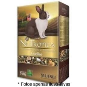 Ração Nutrópica Coelho sabor Muesli 500g