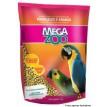 Ração Mega Zoo Papagaio e Araras 700g