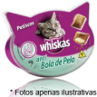 Whiskas  Petiscos Temptations  anti Bola de Pelo 40gr