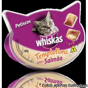 Whiskas  Petiscos Temptations Salmão 40gr