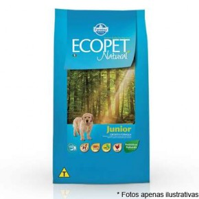 Ração Ecopet Natural Junior Small Bites 1kg