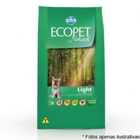 Ração Ecopet Natural Light Small Bites 3kg