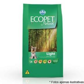 Ração Ecopet Natural Light 15kg