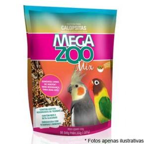 Ração Mega Zoo Mix Calopsitas 350g
