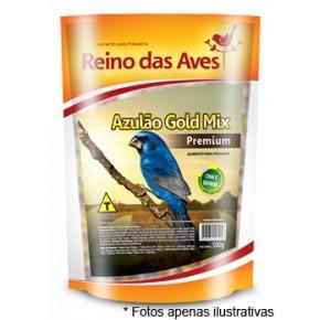 Ração Reino das Aves Azulão Gold Mix 500g