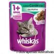 Whiskas Sache sabor  Cordeiro p/ gatos 85gr