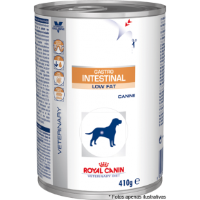Royal Canin Lata Gastro Int. Low Fat Cães 410g