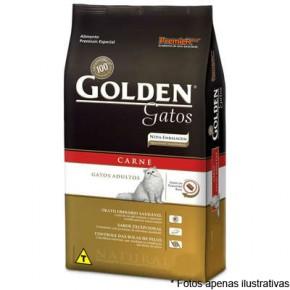 Ração Golden Gatos Adultos Carne10kg