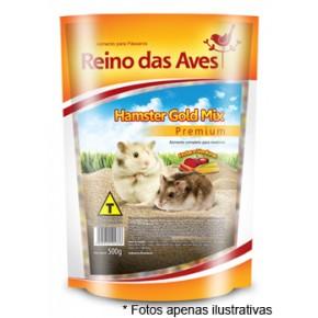 Ração Reino das Aves Hamster Gold Mix 500g