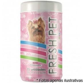 Lenços Umedecidos Fresh Pet Cães 75fls