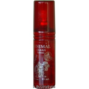 Colônia Animal Clean -  Morango 95ml