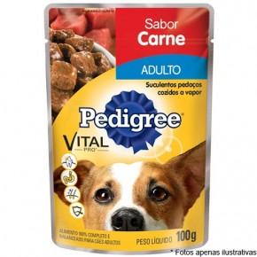 Pedigree Sache Cães Adultos Carne 100g