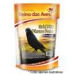 Ração Reino das Aves Passaro Preto Gold Mix 500g