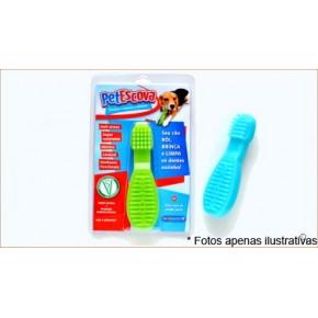 Petgames Brinquedos PetEscova - Azul tamanho M