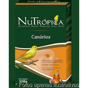 Ração Nutrópica Canario Mel 300g